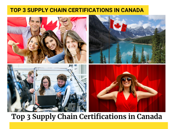Top 3 Supply Chain Certifications in Canada